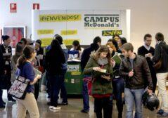 Campus Macdonald's Campus de formación y empleo Jove organizado en la UP de Valencia (Foto: Alberto Sáiz)