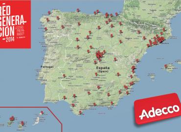 La #RedGeneraciónAdecco toma las calles de España: #WayToWork