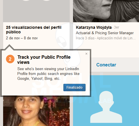 El nuevo 'Quién ha visto tu perfil' de Linkedin   Primeros pasos