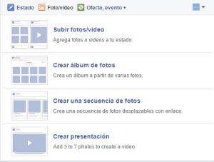 Como crear una presentación en video para Facebook