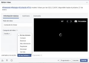 como crear una presentacion de video para facebook paso 6