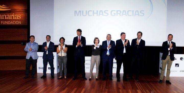 Encuentro Impulsando Pymes Tenerife. Impulsando Pymes ha reunido en la Fundación Caja Canarias a 18 grandes empresas nacionales e internacionales y a más de 200 pymes canarias.